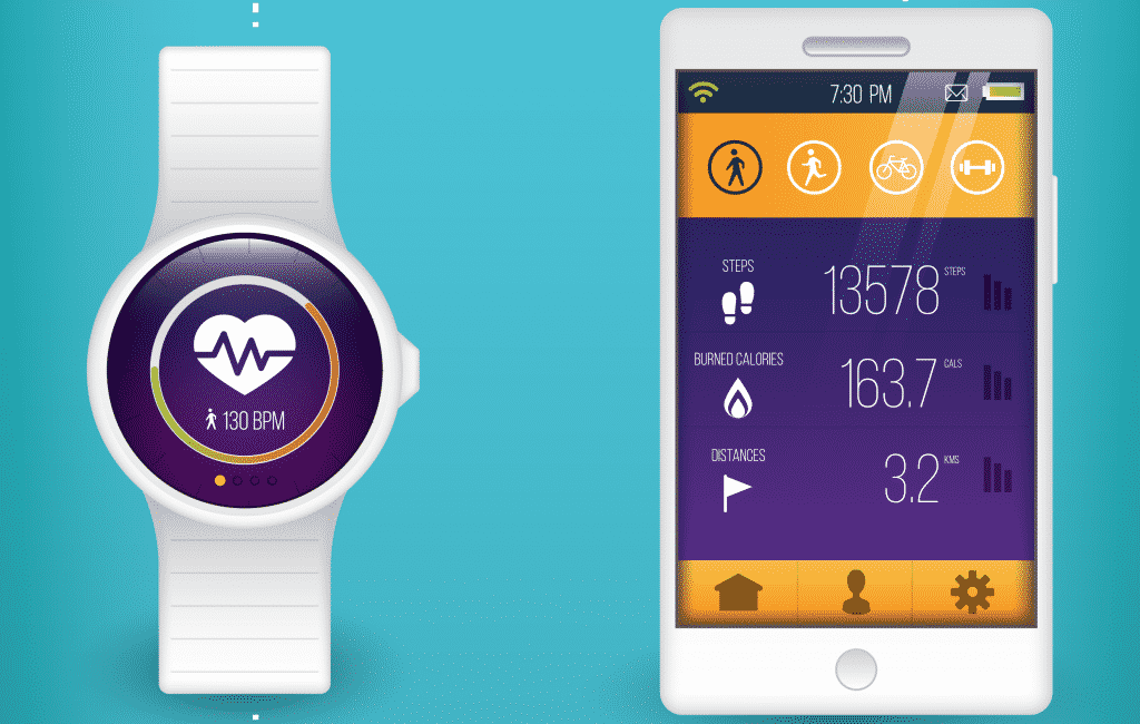mobile apps for best waterproof activity trackers
