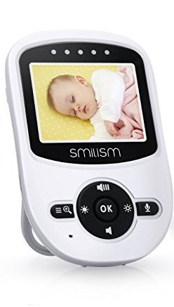 4. Smilism Video Baby Monitor with Night Vision Camera