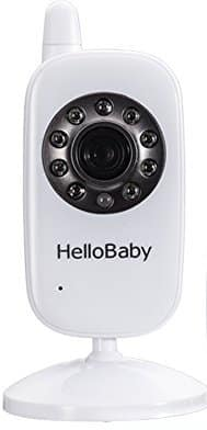 7. HelloBaby 3.2-Inch Video Baby Monitor
