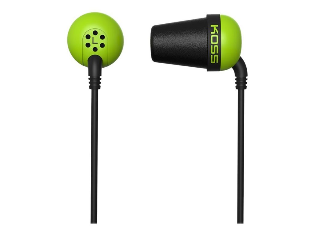 Koss the Plug In-Ear Headphones - Earbuds for Small Ears