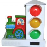 Stoplight Sleep Enhancing Alarm Clock for Heavy Sleepers
