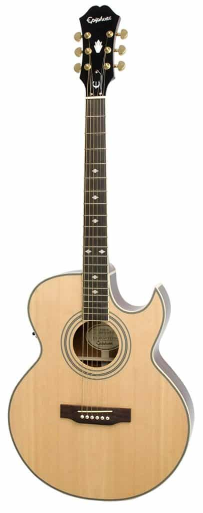 Epiphone PR5-E Electric Acoustic Guitar for Small Hands