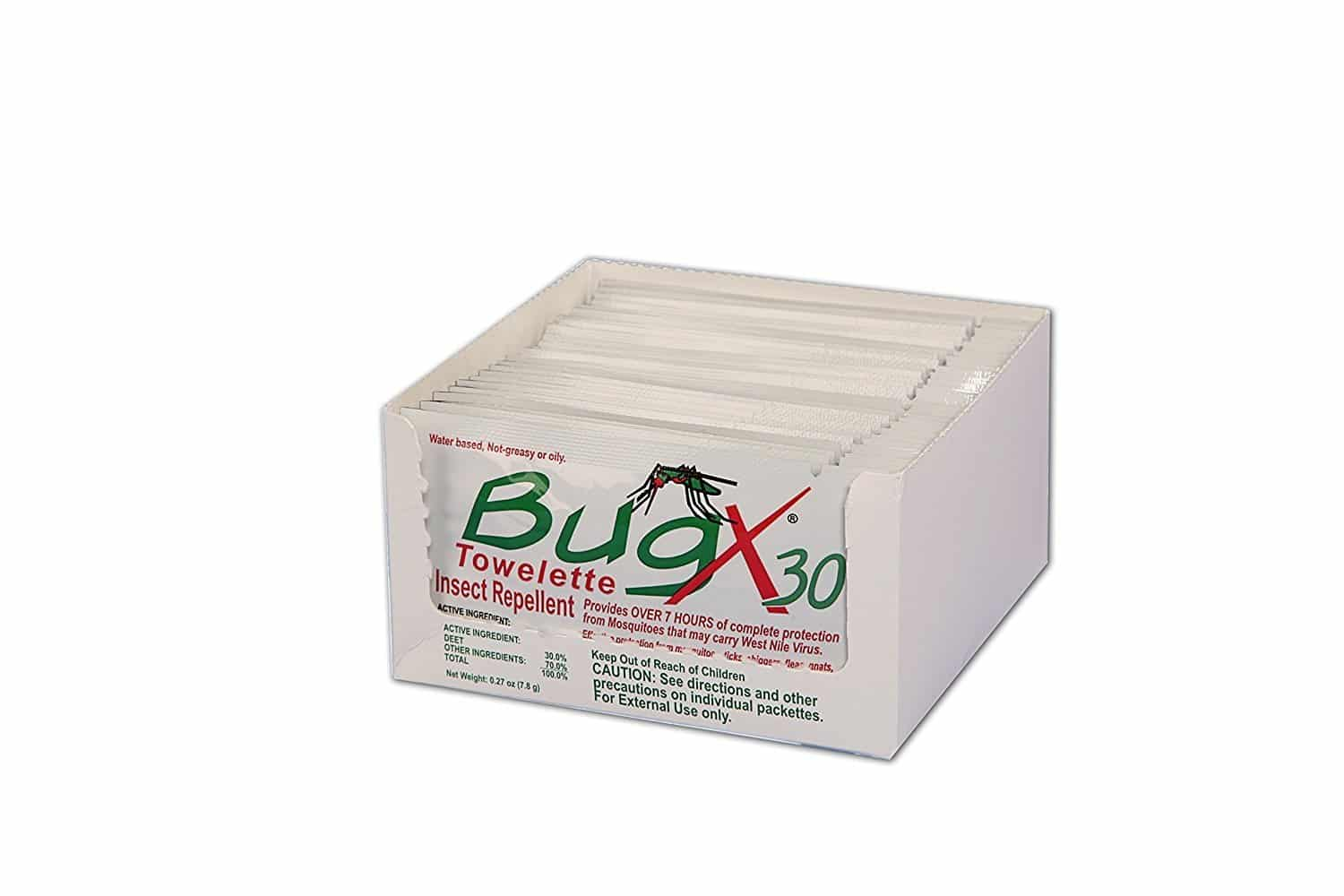 Bug X Insect Repellent Towelette Foil Pack