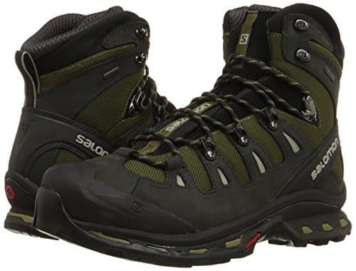Salomon Men Quest 4D 2 GTX Canvas Hiking Boots