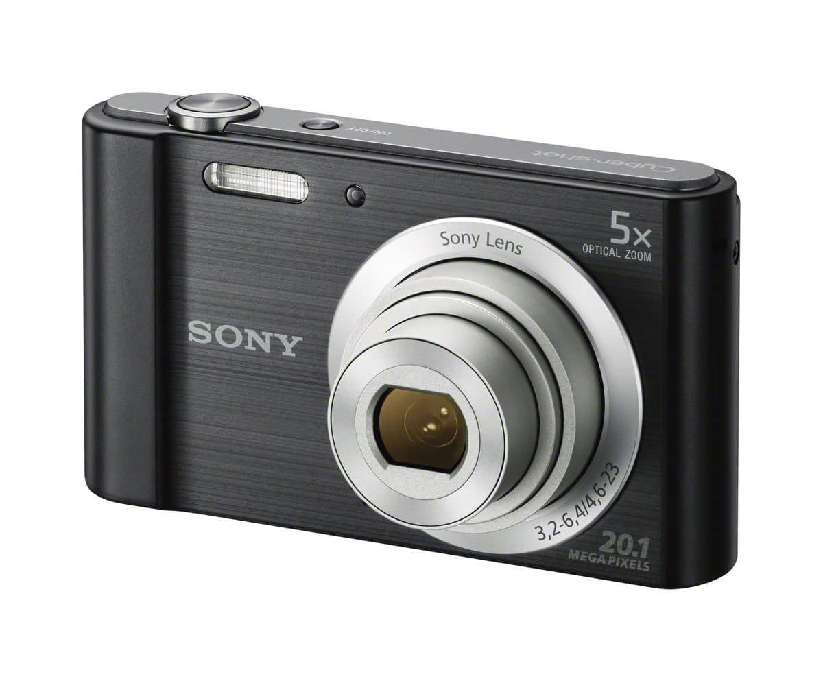 Sony DSCW800 B 20.1 MP Digital Camera