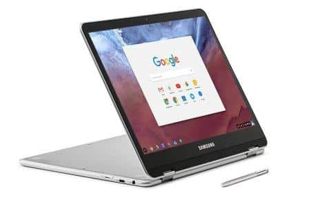 Samsung Chromebook Convertible Touch Laptop