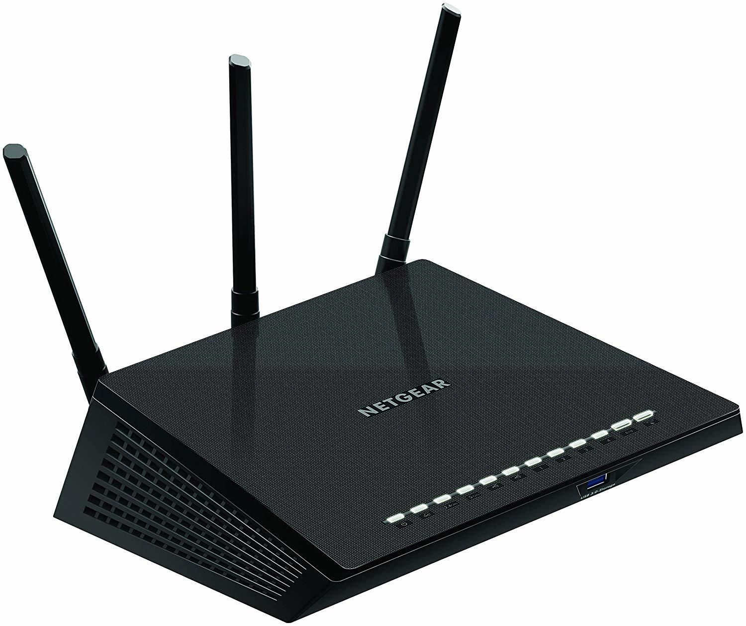 Netgear Nighthawk AC1750 Interface