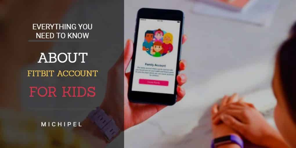 fitbit account for kids