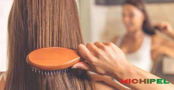 using microfiber brush or towel