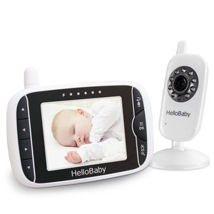 HelloBaby 3.2-Inch Video Baby Monitor