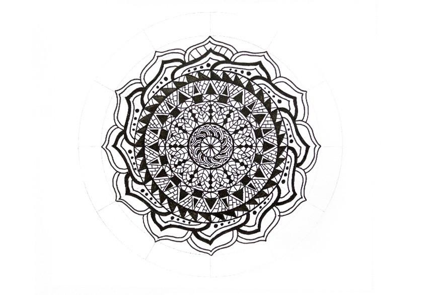 craft a mandala