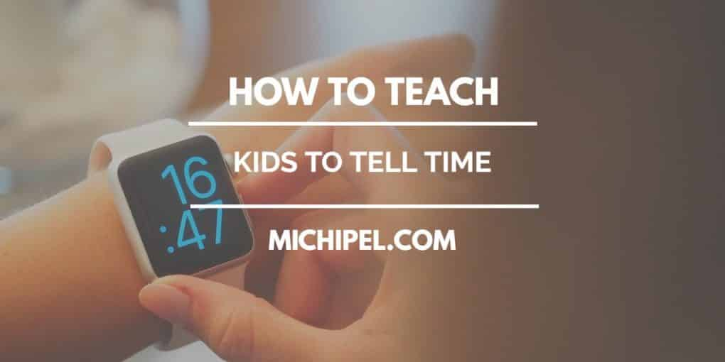 teach kids to tell time