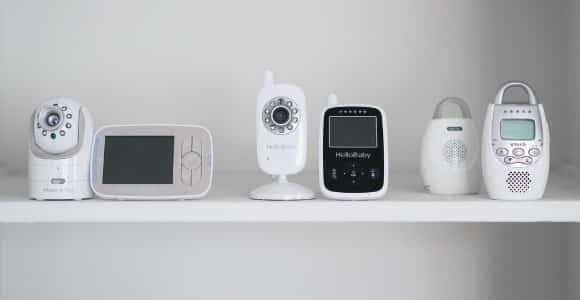 different kinds of baby monitors