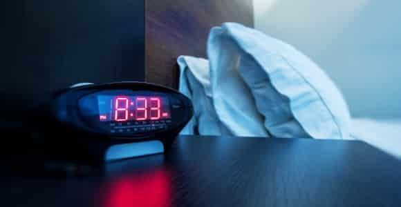 get an alarm clock